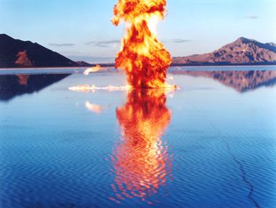 Methane Fire